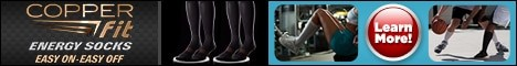 copper fit energy socks