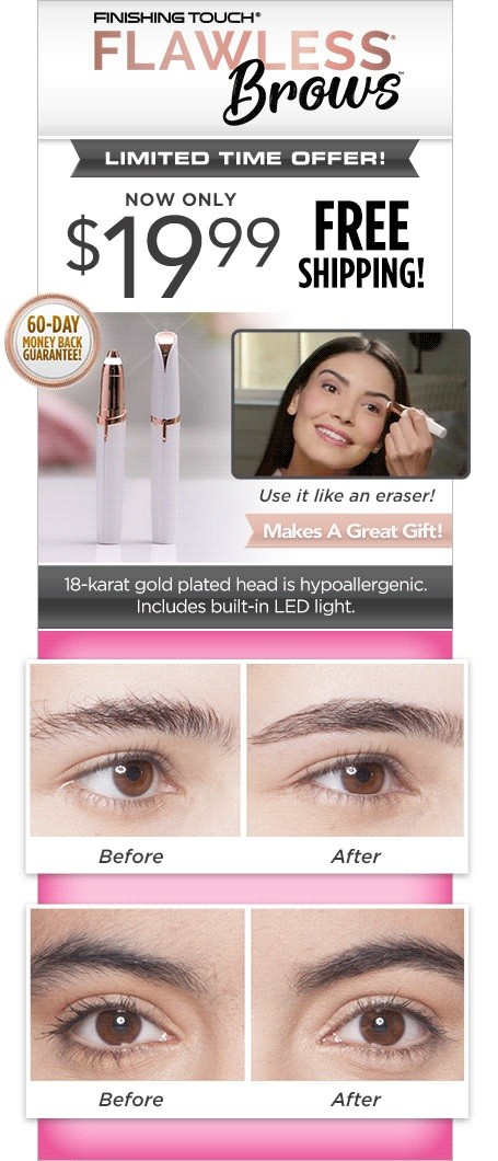 As Seen On TV Flawless Brows