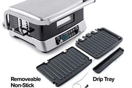 NUWAVE JUBILEE 1800-Watt Double Grill with Flavor-Lock Technology