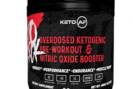 Ketogenic Pre Workout Creatine + Ketones + MCT   Keto AF