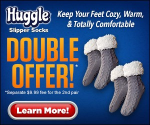 As Seen On TV Slipper Socks