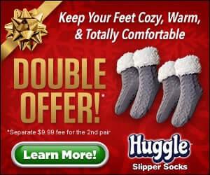 huggle slipper socks offer