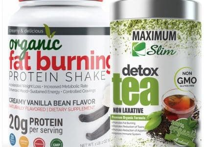fat burning shake and detox tea