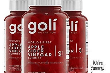World's First Apple Cider Vinegar Gummy Vitamins by Goli Nutrition