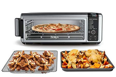 Ninja Foodi 8-in-1 Digital, Toaster, Air Fryer, with Flip-Away for Storage Multi-Purpose Counter-top Appliance