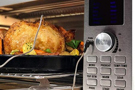 NUWAVE BRAVO XL 1800-Watt Convection Oven with Crisping and Flavor Infusion Technology