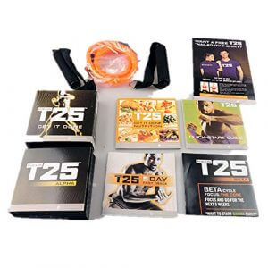 Beachbody Focus T25 Shaun T's DVD Workout Program   Comprehensive Fitness Guide & Nutrition Plan Included
