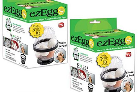 EZ EGGS Hard Boiled Egg Peeler As Seen on TV