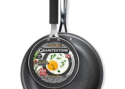 Grainitestone Frying Pan Skillet with Eggpan