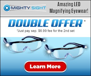 Mighty Sight Magnifying Glasses