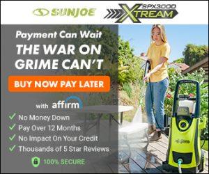 Sun Joe SPX3000 XTREAM