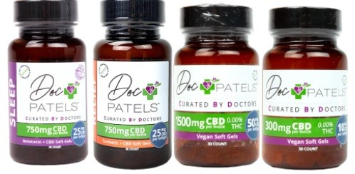 cbd soft gels from Doc Patels