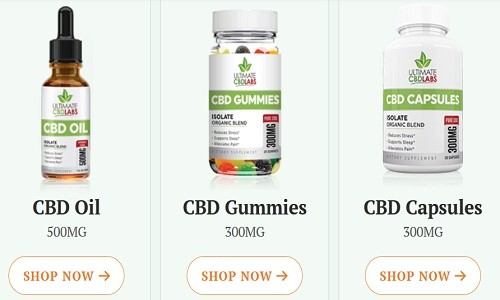 Ultimate CBD Labs Products