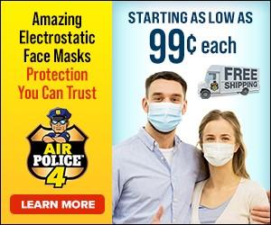 Electrostatic Face Masks