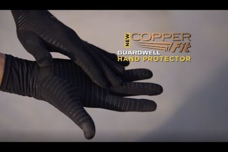 new copper fit compression gloves
