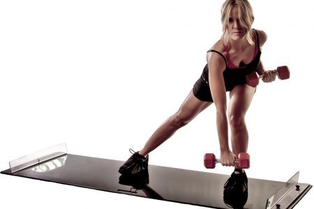 Obsidian Slide Board Fitness