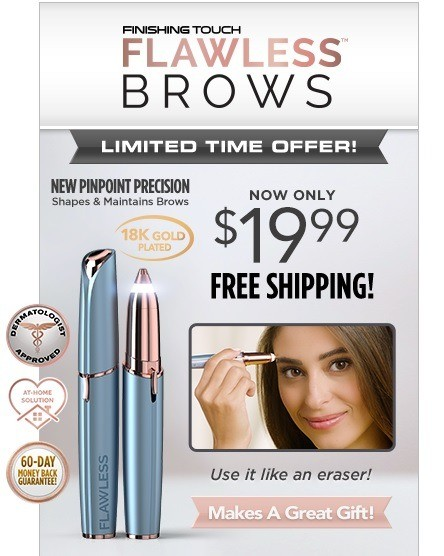 Flawless Brows Blue TV Offer