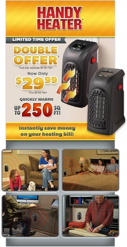 Handy Heater Online Deal
