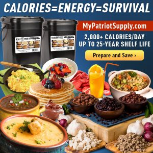Food 25 Year Shelf Life