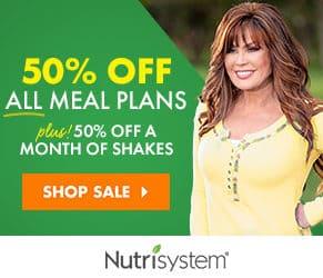 Nutrisystem 50% Off